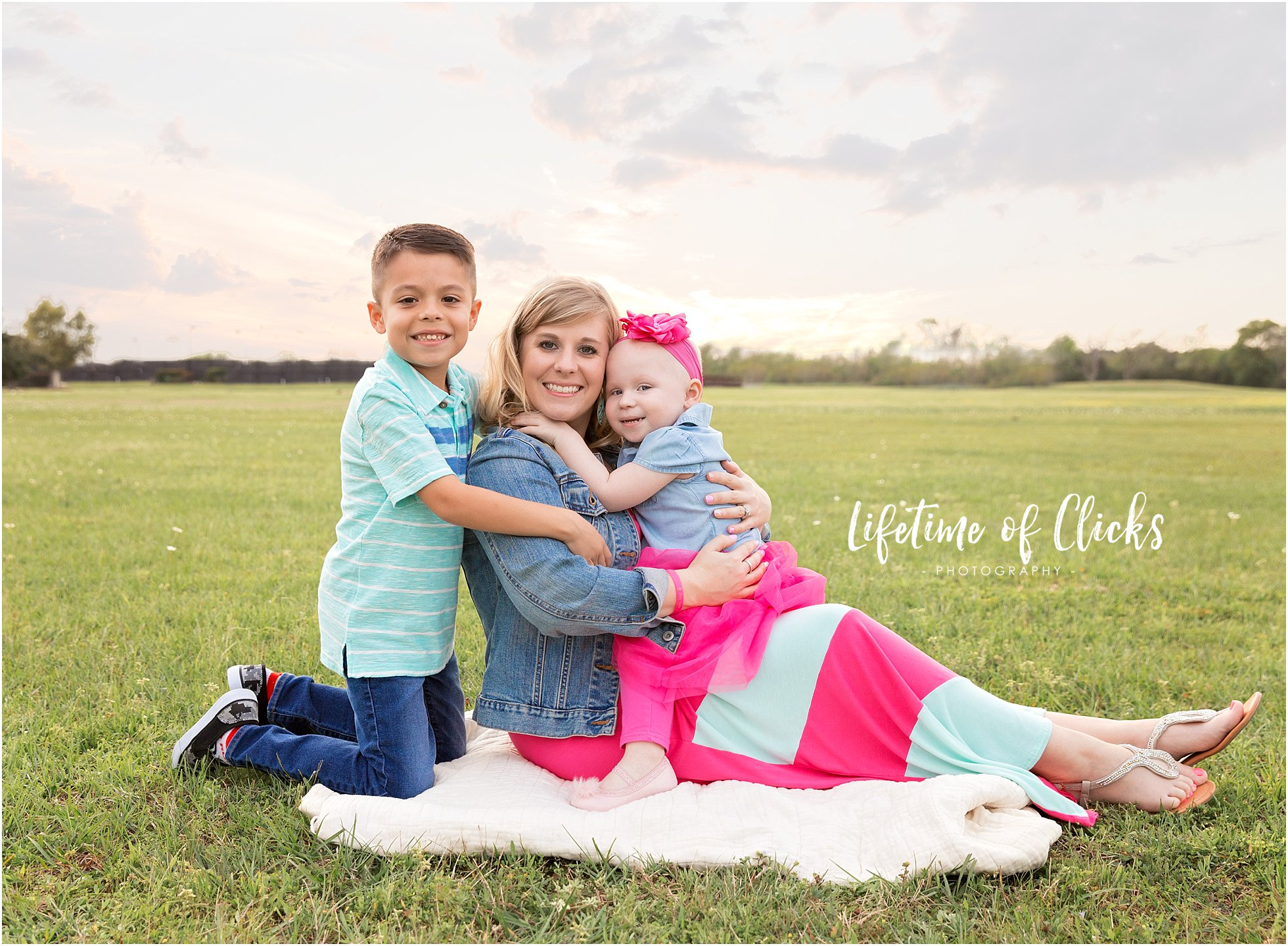 Family photo of Beauty Revived Featured Mother