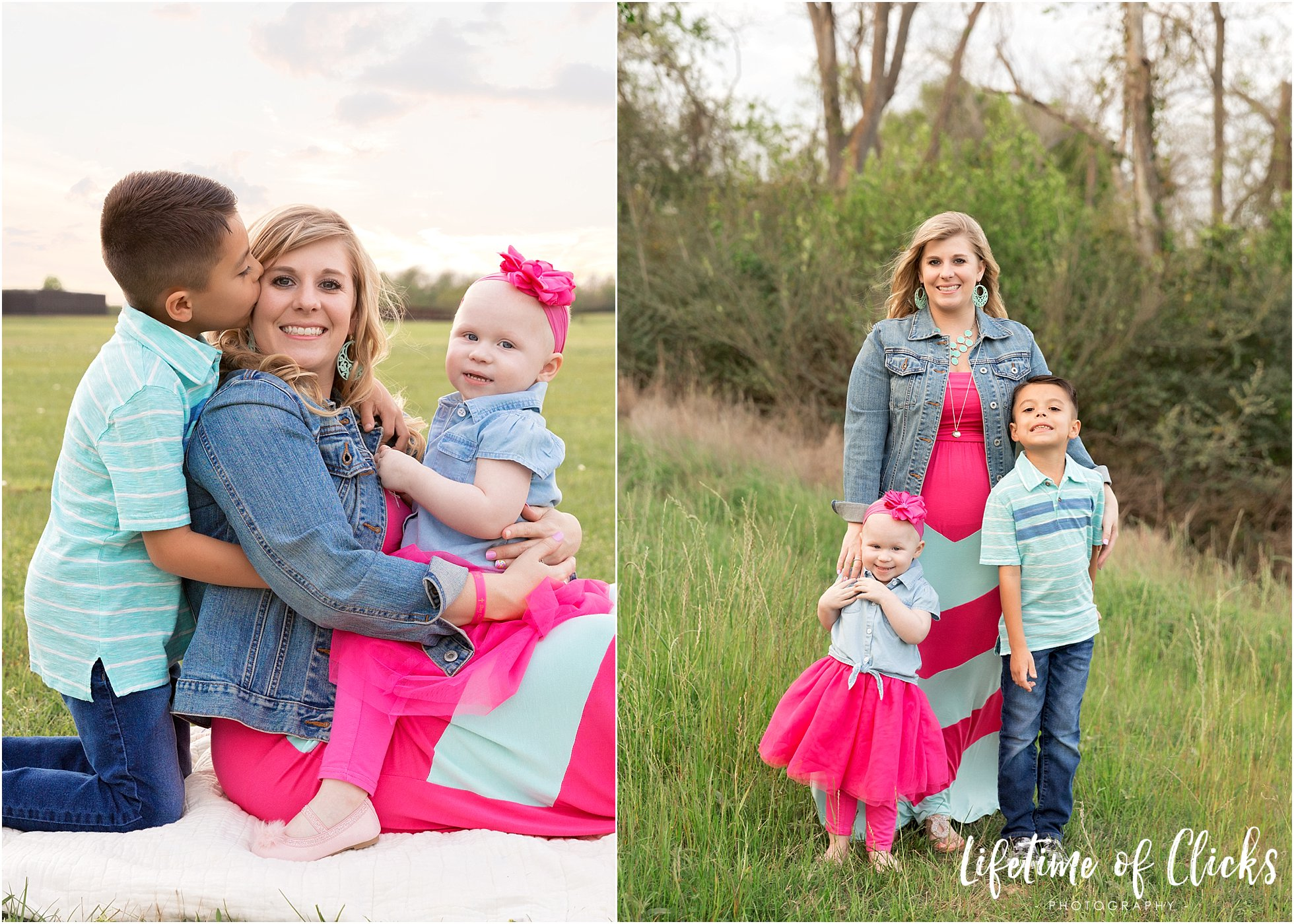 Nationally Published Photographer Lifetime of Clicks Photography captures Valerie Thompson for the Mother's Day Issue of Beauty Revived
